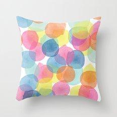 Confetti in Multicolour  Throw Pillow