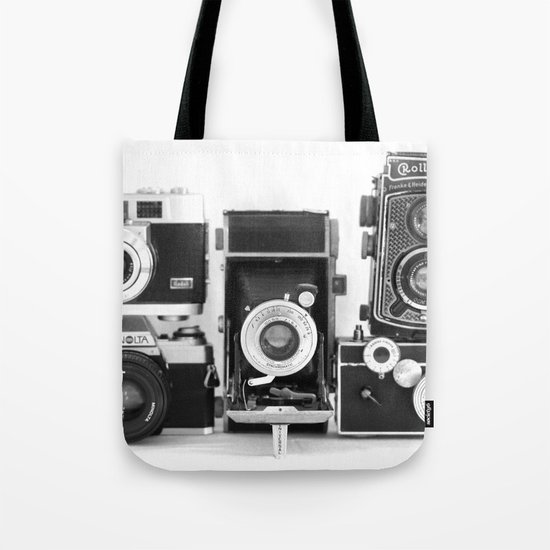 Vintage Camera Collection Tote Bag