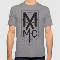 MXMC Mens Fitted Tee Athletic Grey SMALL