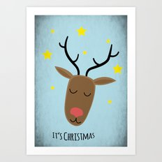 Its Christmas Art Print