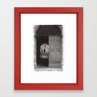 Rome Door 3 Framed Art Print