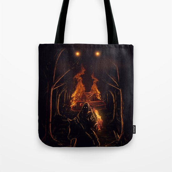 The Arsonist Tote Bag