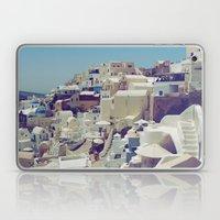 Oia, Santorini, Greece III Laptop & iPad Skin