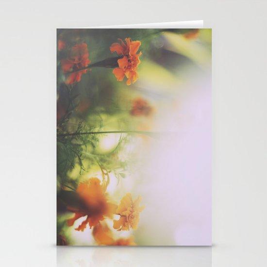 Marigolds in Ubud Stationery Card