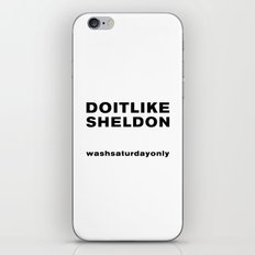 Like Sheldon iPhone & iPod Skin