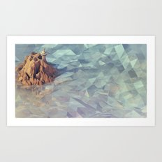 Watchtower Art Print