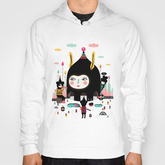 Home is where the happy creatures are! Hoody