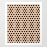 Dots collection II Art Print
