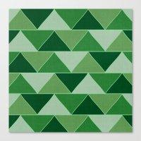 The Emerald City Canvas Print