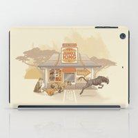 Fast Food (Jungle King) iPad Case