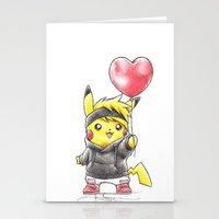 IHeart Birdychu Stationery Cards