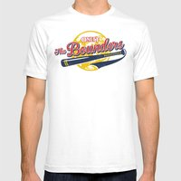 The Bounders Mens Fitted Tee White SMALL
