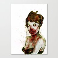 BRAAAINS BEFORE BEAUTY Canvas Print