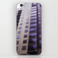 Losing Focus in Downtown Seattle iPhone & iPod Skin