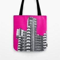 London Town - Lloyds of London Tote Bag