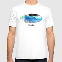 Purity Mens Fitted Tee White SMALL
