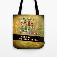 No Such Thing Tote Bag