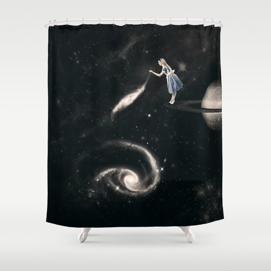 My Favourite Yo Yo Shower Curtain