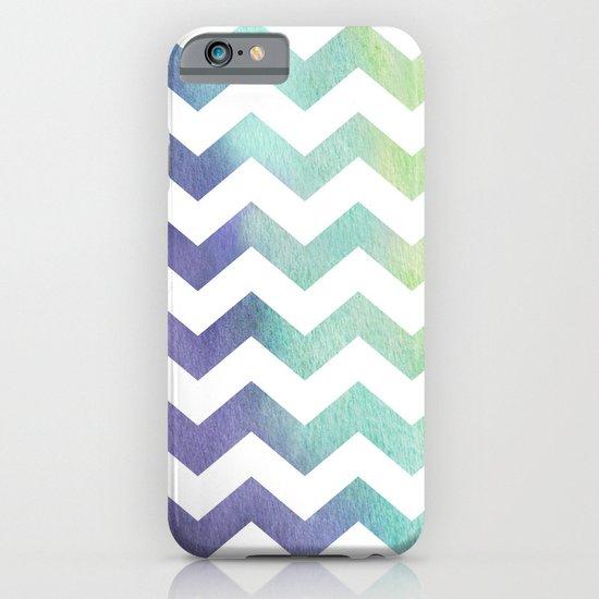 Watercolour Chevron iPhone & iPod Case