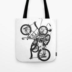 Bike Chaos Tote Bag