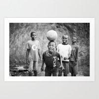 Bliss::rwanda Art Print
