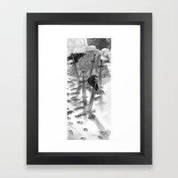 One Winter's Due Framed Art Print