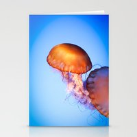 Large Jellyfish Stationery Cards