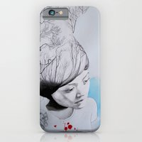 Hidden trees iPhone 6 Slim Case