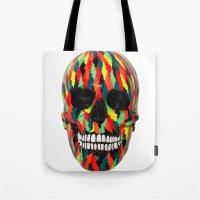 Upoko Skull Tote Bag