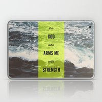 ARMS ME WITH STRENGTH Laptop & iPad Skin