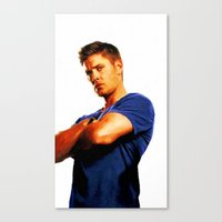 Dean Winchester / Supernatural - Painting Style Canvas Print