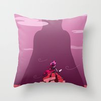 Stand Your Ground  Throw Pillow