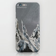 Mountains - Winter Sky iPhone 6 Slim Case