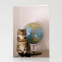 The World Is Not Enough Stationery Cards
