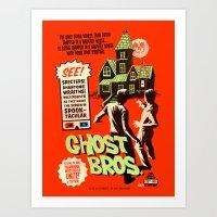 Ghost Bros! Art Print