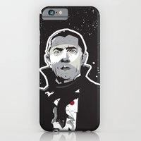 iPhone & iPod Case featuring Dracula by Matt Fontaine