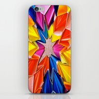 rainbow explosion iPhone & iPod Skin