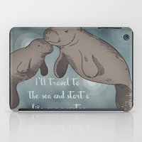 Manatee iPad Case