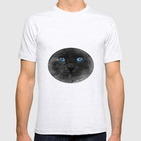 CATTURE Mens Fitted Tee Ash Grey SMALL