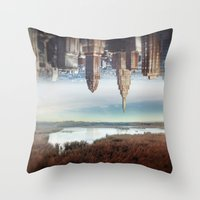 Seperation of state Throw Pillow