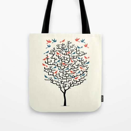 Out On a Lark Tote Bag
