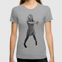 Wild Wild Bex Womens Fitted Tee Athletic Grey SMALL