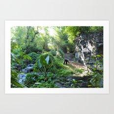 Wilderness Solitude Art Print