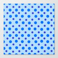 Polka Dots Canvas Print