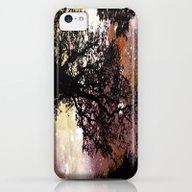 Black Trees Brown Beige … iPhone 5c Slim Case