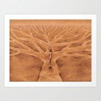 Paths Like Branches Art Print