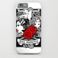 iPhone & iPod Case featuring Rose Garden by Tom Burns