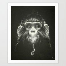 Prisoner (Original) Art Print