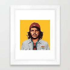 Hipstory - che guevara Framed Art Print