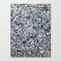 Granite mineral Canvas Print